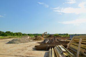 Фотоотчет со строительной площадки ЖК, июнь 2020 года.