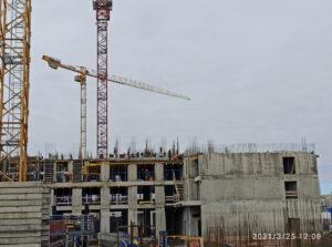 Фотоотчет о ходе строительства компенсационного дома от 25.03.2021