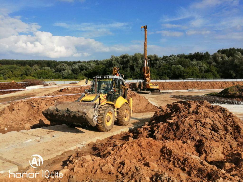 Фотоотчет со строительной площадки от 3 августа 2020 г.