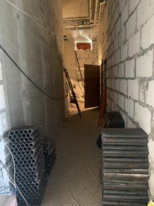 Компенсационный дом в Рязанском ход строительства